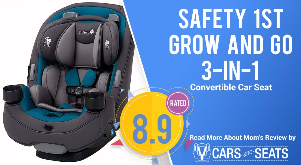 Safety 1st Grow And Go 3 In 1 Convertible Car Seat Moms Review